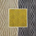 Virgo (3 colors) fabric upholstery jacquard fancy Thévenon