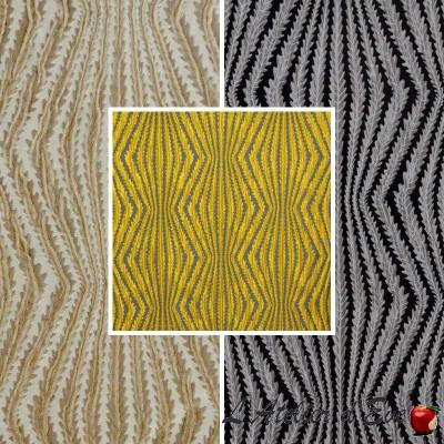 Virgo: Tissu ameublement jacquard fantaisie pour sièges Thevenon