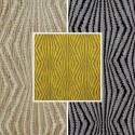 Virgo (3 colours) roll fabric jacquard fancy furniture and seats Thévenon room/half room