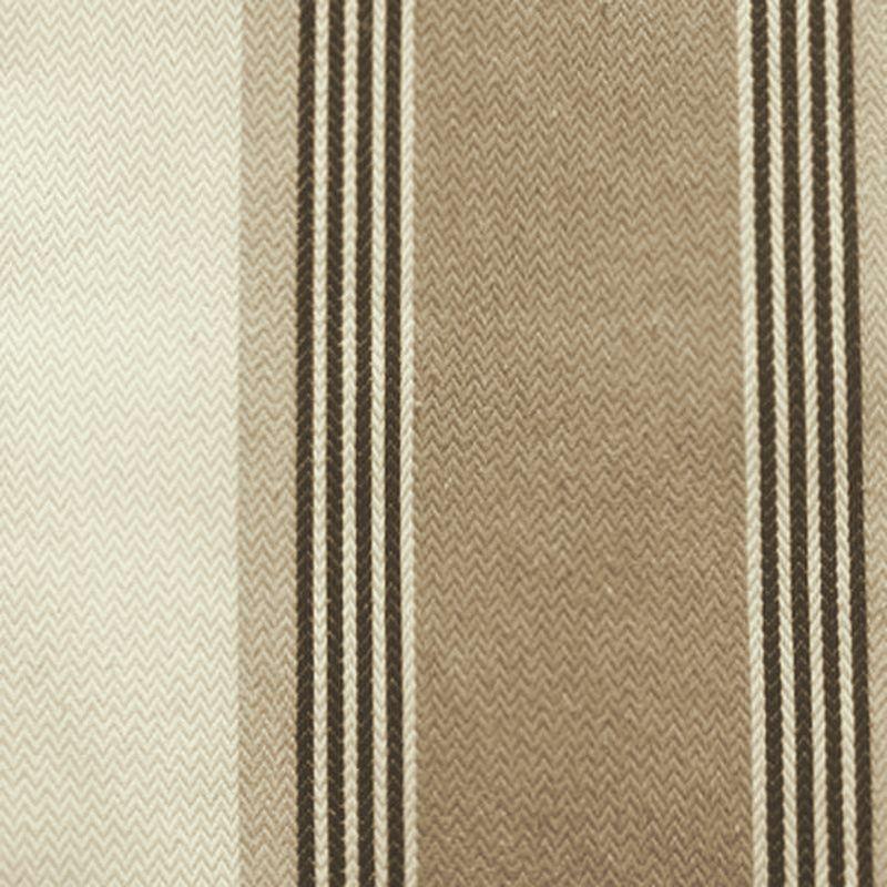 Amario - Tissu ameublement jacquard large rayure ficelle