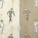 Jeu de mains (2 coloris) Rideau à oeillets Made in France pour enfants Thevenon Le rideau