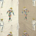 Set of hands (2 colours) curtain grommets Made in France for children Thévenon the curtain