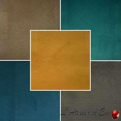 Sweet Skin (8 coloris) Tissu ameublement velours effet brossé pour siège Thevenon
