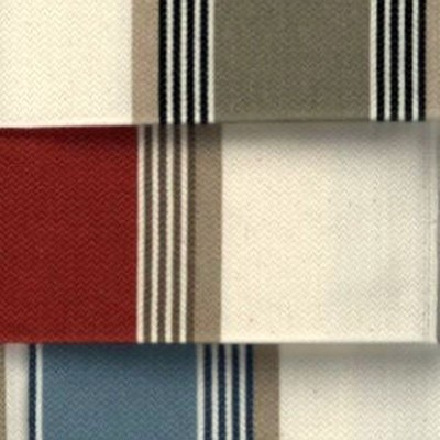 Amario (3 coloris) Tissu ameublement jacquard rayure grande largeur Thevenon