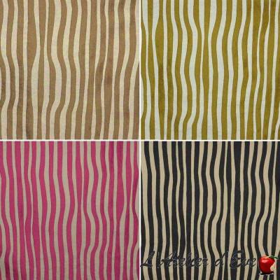 Surfliner (4 coloris) Tissu ameublement jacquard rayure Thevenon