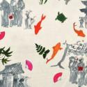 Sansaku furnishing fabric cotton fancy Thévenon