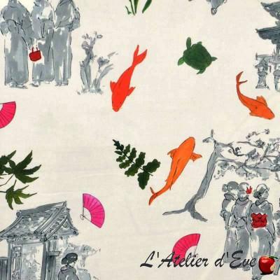Sansaku curtain grommets Made in France Thévenon the curtain