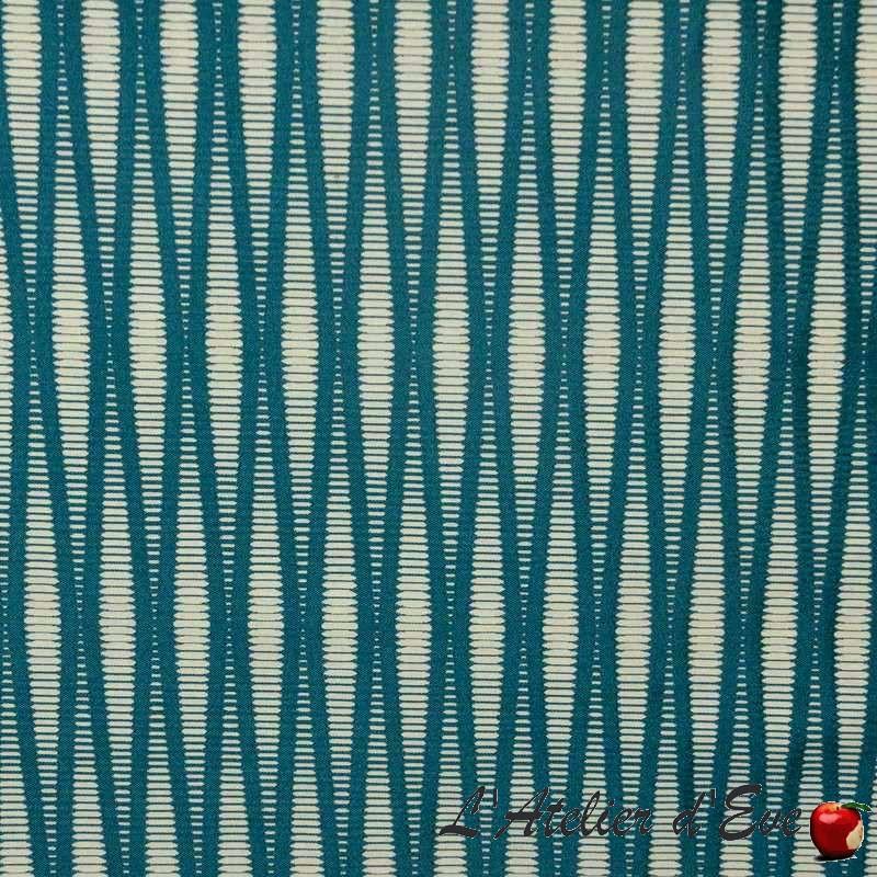 Pyxis-3-coloris-Tissu-ameublement-jacquard-rayure-Thevenon