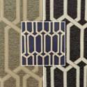 Makeover (3 colors) fabric upholstery jacquard geometric Thévenon