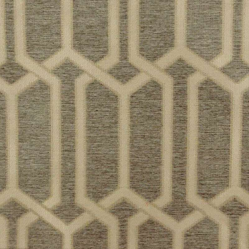 Jouvence (3 coloris) Tissu ameublement jacquard géométrique Thevenon