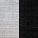 Visir uni (2 coloris) Toile ameublement unie effet tressée pour sièges Thevenon