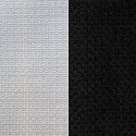 United Vísir (2 colours) curtain grommets Made in France effect braid Thévenon the curtain