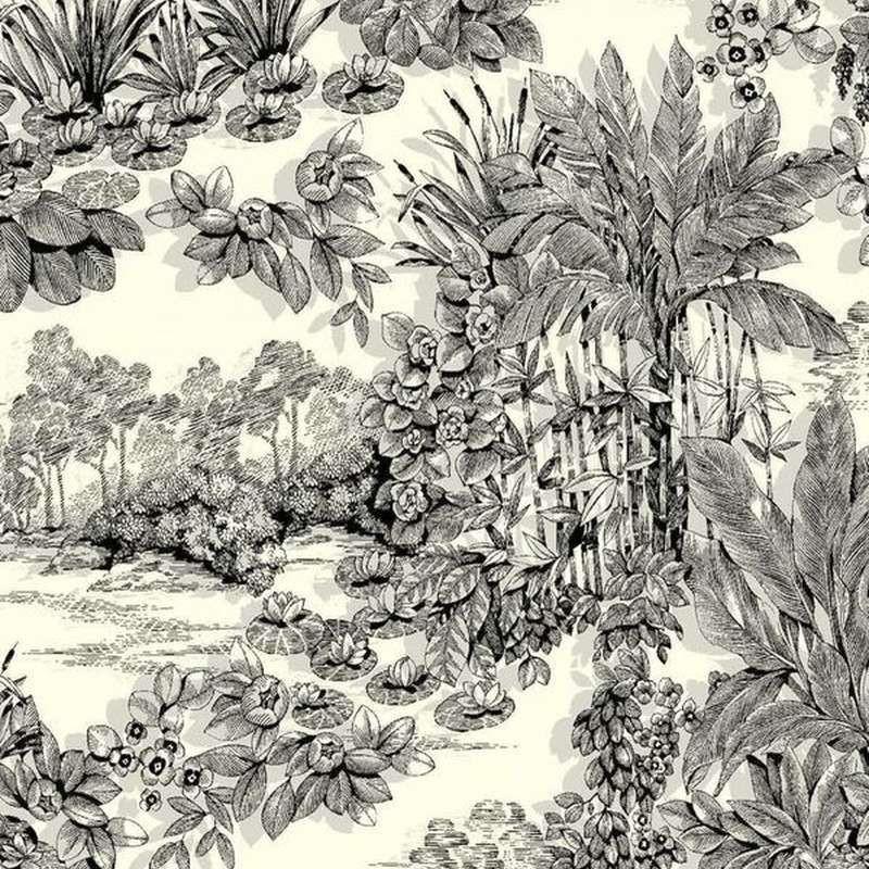 Tissu ameublement coton Eden de Thevenon Paris