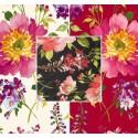 I love you (3 coloris) Rideau à oeillets Made in France coton fleuri Thevenon Le rideau