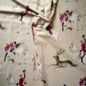 A Courre Rouleau tissu ameublement coton grande largeur Thevenon Pièce ou demi-pièce