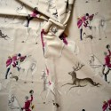 A Fox roller cotton furnishing fabric wide Thévenon the part or half part