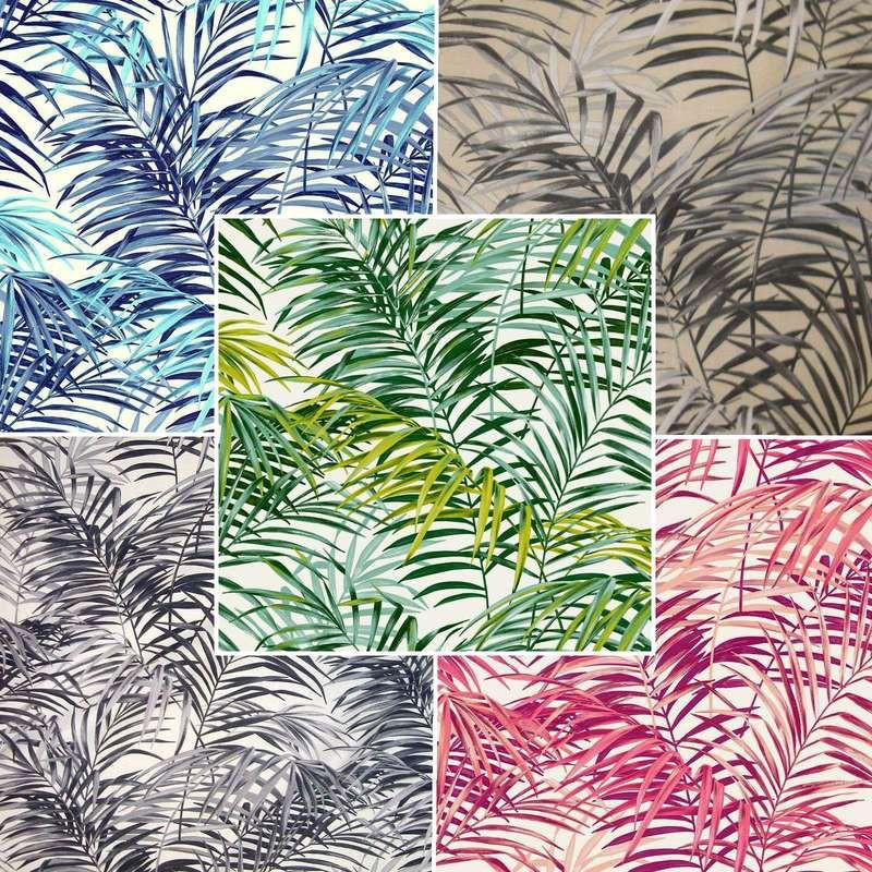 tissu palm springs tissu motif palmier pour si ges. Black Bedroom Furniture Sets. Home Design Ideas