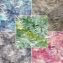 """Palm Springs"" coton Remise 30% Rouleau tissu ameublement Thevenon"