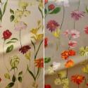 Quintessence (2 coloris) Rouleau tissu ameublement et sièges coton fleuri grande largeur Thevenon Pièce/demi-pièce