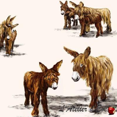 My donkey canvas upholstery for seats Thévenon
