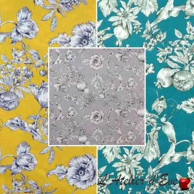 Grenadine (3 colours) roll cotton canvas for seats wide Thévenon room/half room