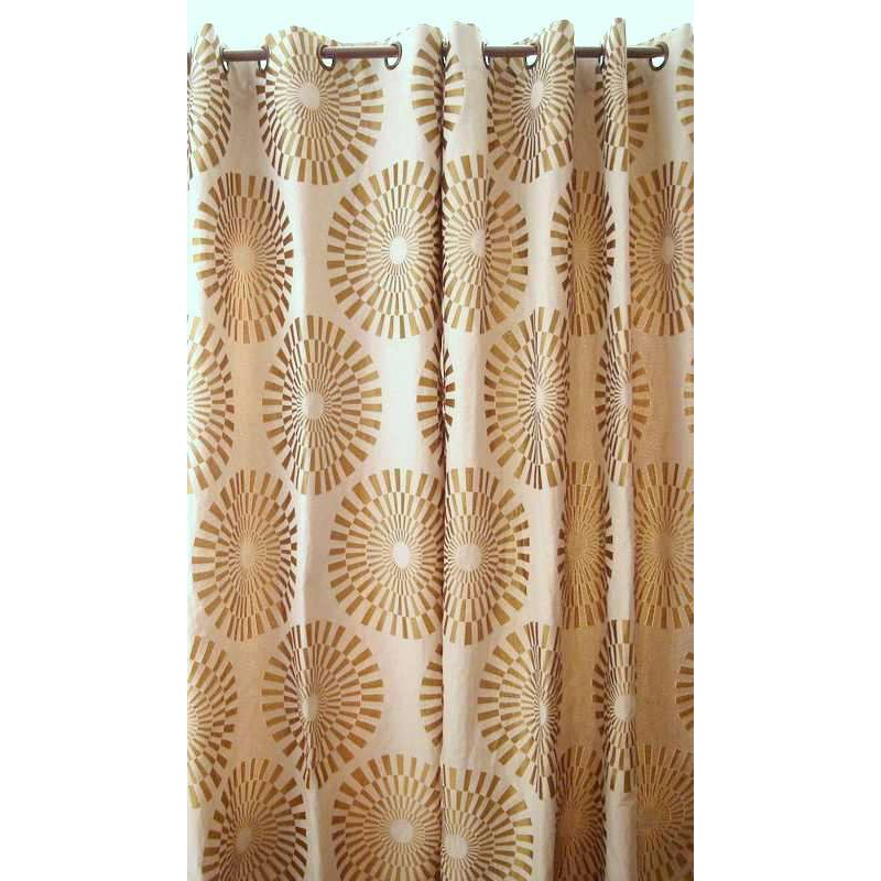 canopee rideau a oeillets pret a poser jacquard reversible le rideau. Black Bedroom Furniture Sets. Home Design Ideas
