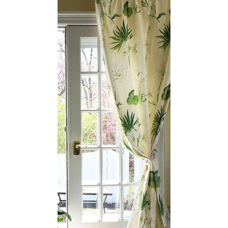 rideau oeillet fleuri leslie made in france thevenon paris. Black Bedroom Furniture Sets. Home Design Ideas