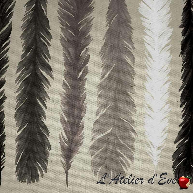 Cuisine Salon 20M2 : Tissu coton sièges et tapissiers Nouveau monde de Theven