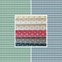 East Sun (8 colours) roll canvas cotton geometric pattern Thévenon room/half room furniture