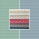 East Sun (8 colours) roll canvas cotton geometric pattern Thévenon room/half room furniture
