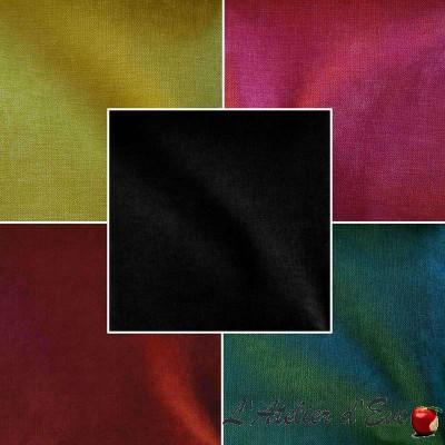 Douceur (35 coloris) Tissu tapissier velours uni Thevenon