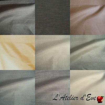 Black Sun (15 colors) fabric furniture blackout blackout Thévenon