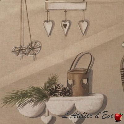 Merry Bell HP NOVA roller fabric upholsterer wide Thévenon room/half room