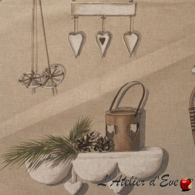 Merry Bell HP NOVA Rouleau tissu tapissier grande largeur Thevenon Pièce/demi-pièce