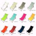 Canvas transat custom (13 colors) high L.43cm United range
