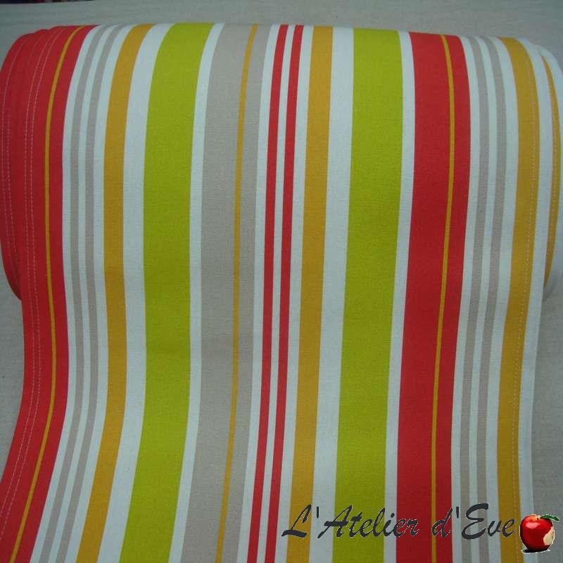 design et tendance toile transat rayures multicolores. Black Bedroom Furniture Sets. Home Design Ideas