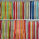 Toile transat rayée (8 coloris) Toile coton L.43cm rayee haut de gamme
