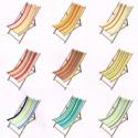 """Canvas transat"" custom striped cotton Bachette"