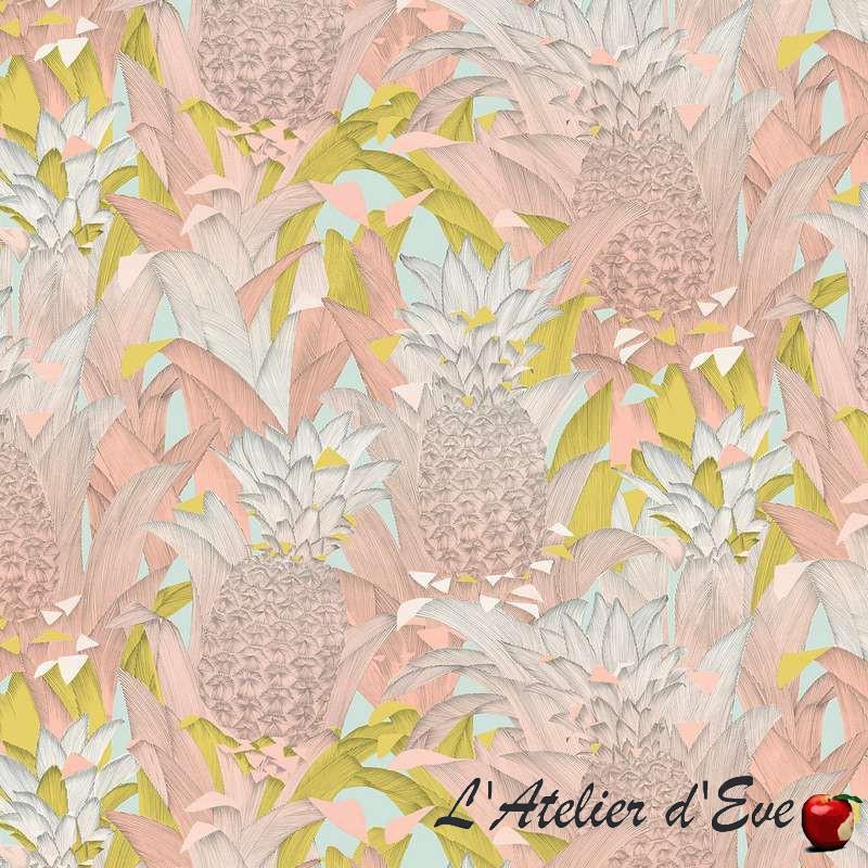 Tropical Klang (4 coloris) Tissu ameublement et siège motif exotique Thevenon