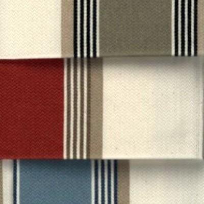 Amario (3 coloris) Rideau a oeillets pret a poser jacquard raye Le rideau