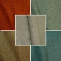 Left bank (10 colors) fabric upholstery and seat United jacquard Thévenon room/half room roll