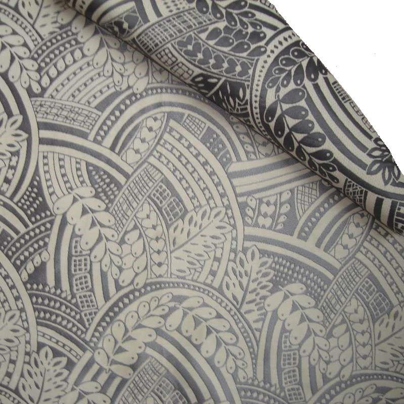 SIRIUS fabric upholstery and seat gray jacquard Thévenon