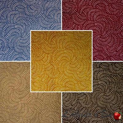 Natal 18 coloris Tissu aquaclean jacquard velours ameublement et siège Casal