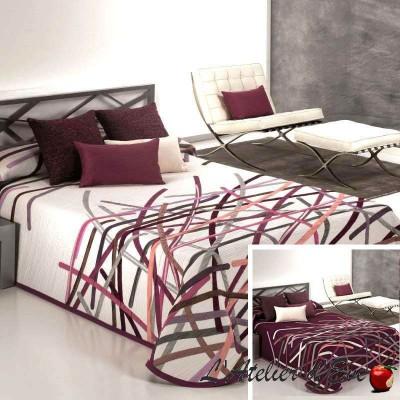 """Bastian"" Reversible washable polyester bedspread Reig Marti C.02"