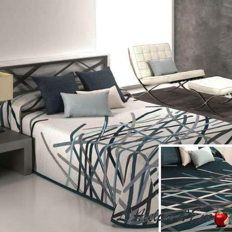 Couvre-lit pour ado Bastian coloris bleu Reig Marti