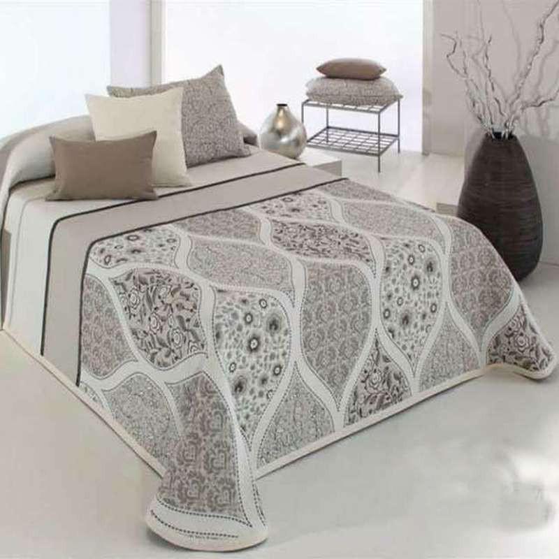 couvre lit jacquard cecyl reig marti linge de lit g om trique. Black Bedroom Furniture Sets. Home Design Ideas
