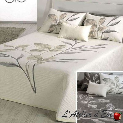 Leave (3 sizes) Flower Reversible Jacquard Bedspread C.01 Reig Marti
