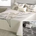 Leave flowery bedspread reversible Reig Marti