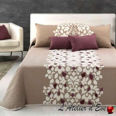 Cleveland (4 sizes) Flower jacquard bedspread string C.01 Reig Marti