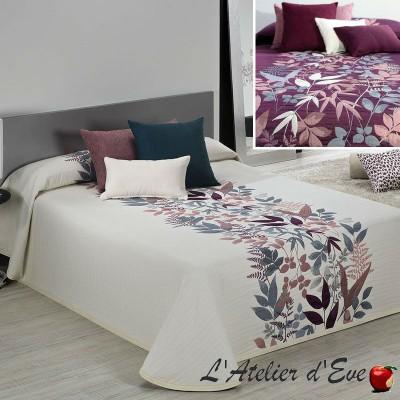 Tobago (3 sizes) Floral pattern jacquard cover C.01 Reig Marti